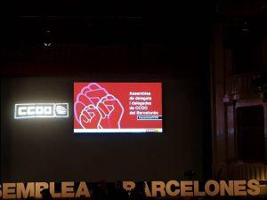 CCOO-TB PRESENTE EN LA ASAMBLEA DELEGADOS DEL BARCELONES